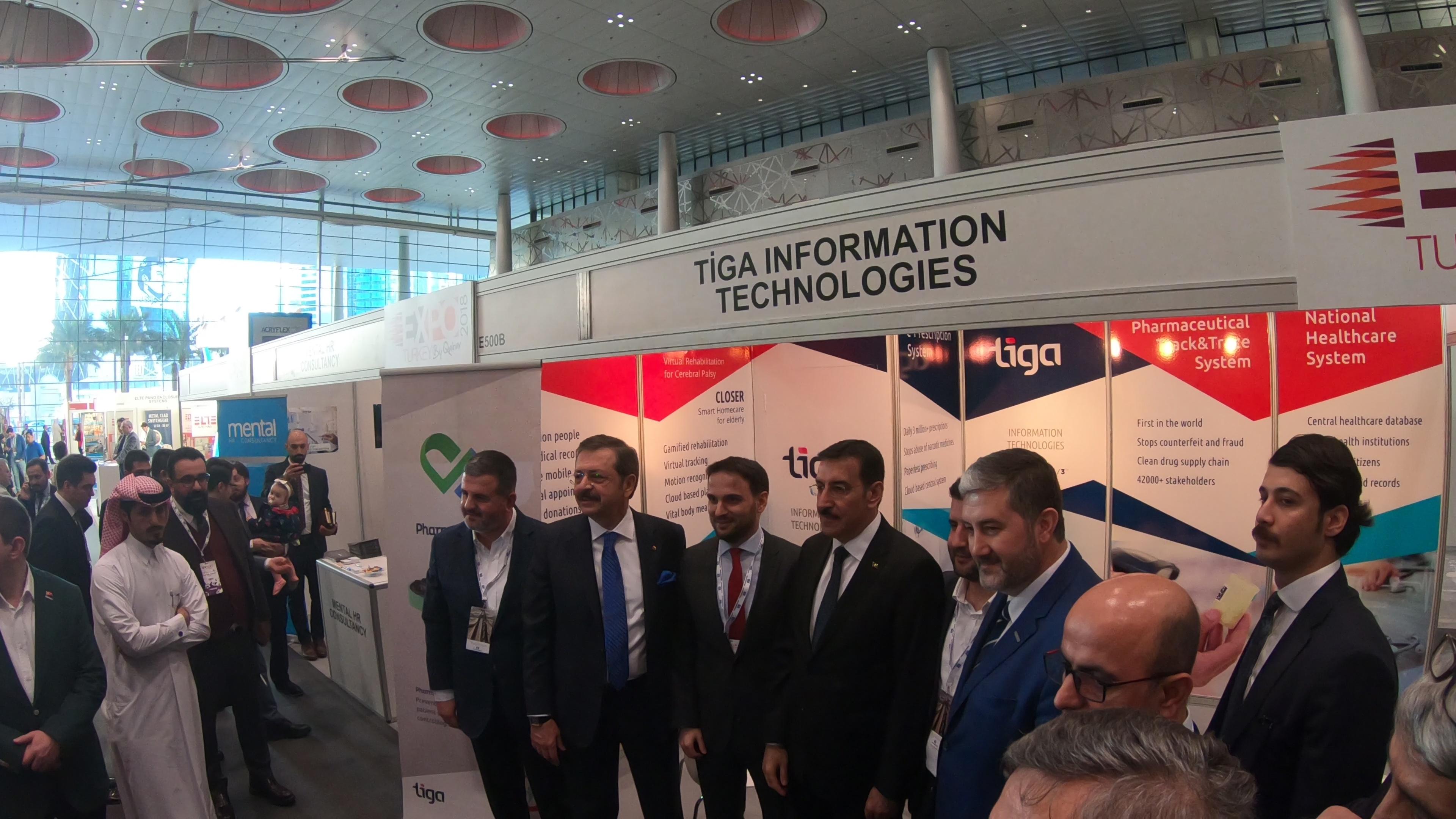 We Participated in Expo Turkey by Qatar 2018 in Doha | Tiga Bilgi