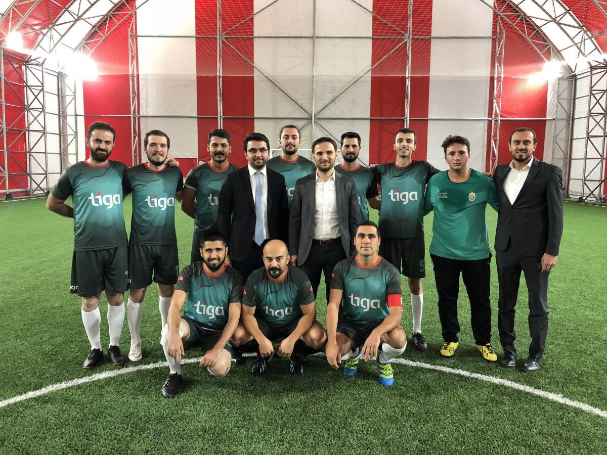4. Gazi Teknopark Futbol Turnuvası'nda 3. olduk !